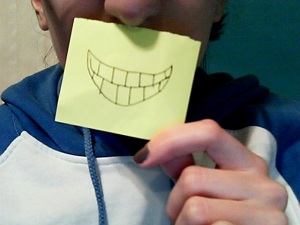 This is how the tooth-impaired smile