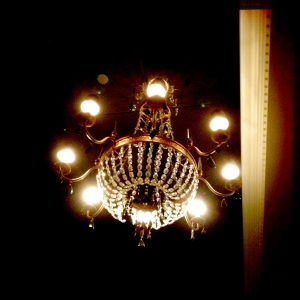 Chandelier-up close