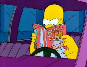 Homer-reads-Archie-500