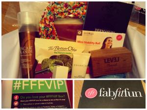 FitFabFun Spring 2014 Box