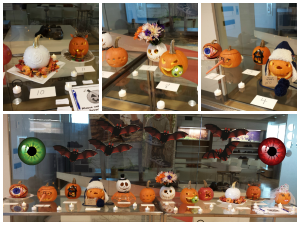 [photo] Pumpkin carving contest