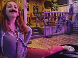 Please enjoy my mustache with mustache shoes. Wearing the shoes was pure coincidental, I swear!