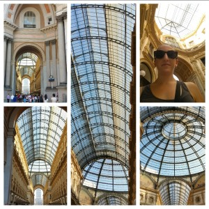 This is a freaking MALL! Italy does malls all fancy!